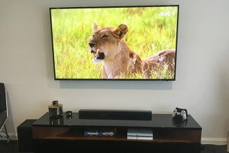 Samsung LED TV wall mount